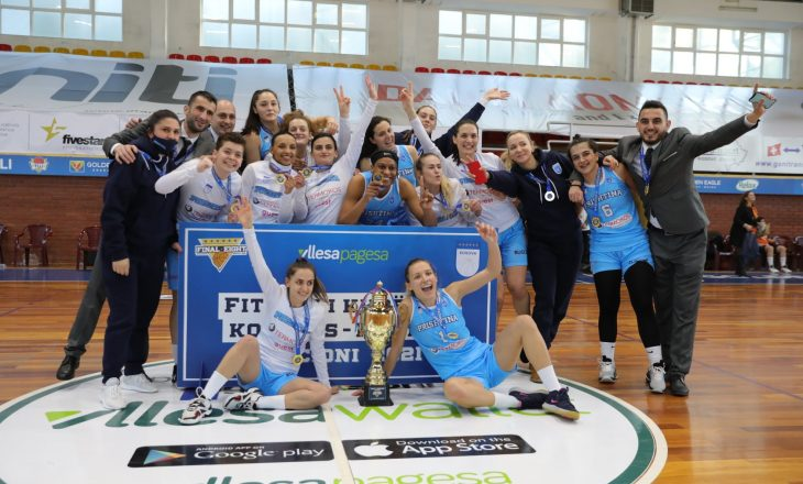 Prishtina fiton Kupën në konkurrencën e femrave, në finale mposhtin vashat e Bashkimit
