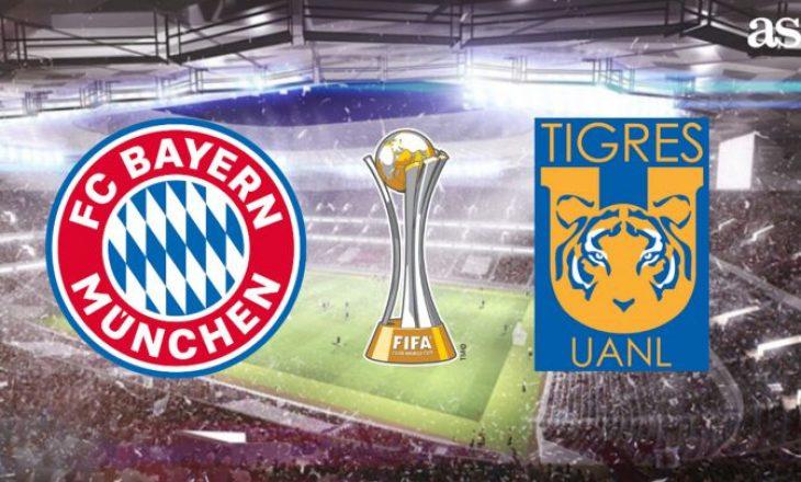 Finalja e botërorit të klubeve Bayern Munchen vs Tigres – formacionet