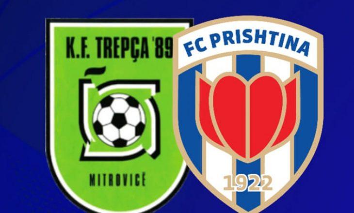 Trepça '89 vs Prishtina ndeshja e vetme në program e së shtunës në Superligë
