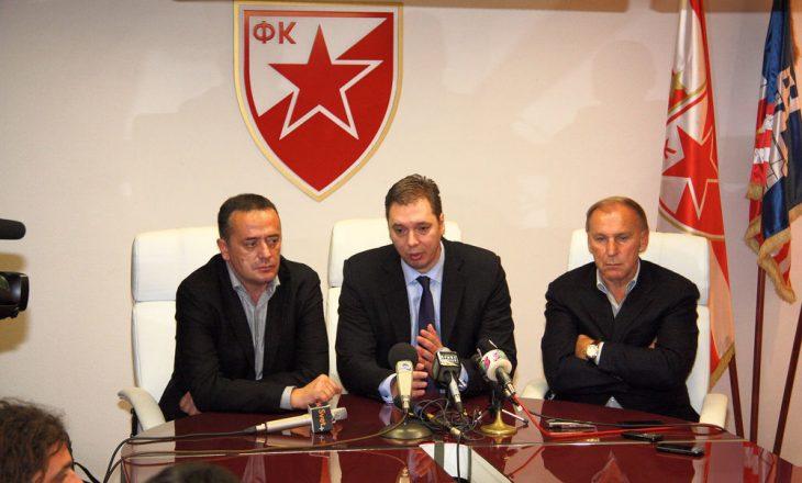 Crvena Zvezda i shkruan letër Vuçiçit, kërkojnë që ndeshjen me Milan në Europa League të zhvillohet me tifozë