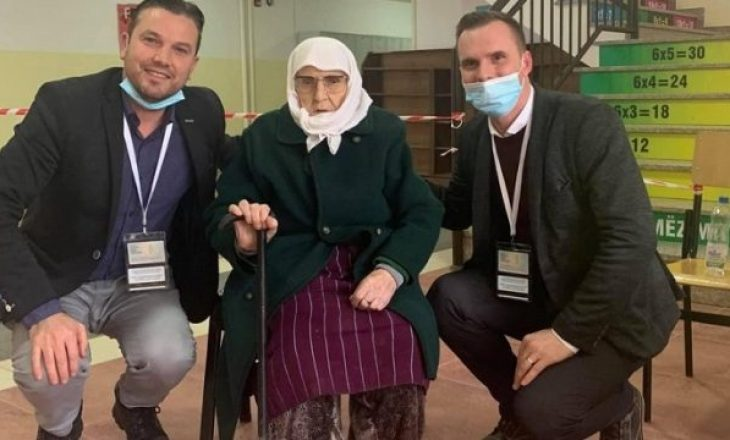 101 vjeçarja voton në Malishevë