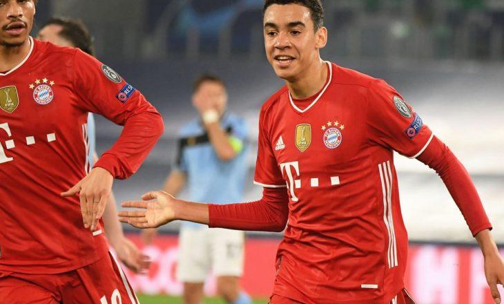 Bayern Munchen mposht bindshëm Lazio-n në Romë