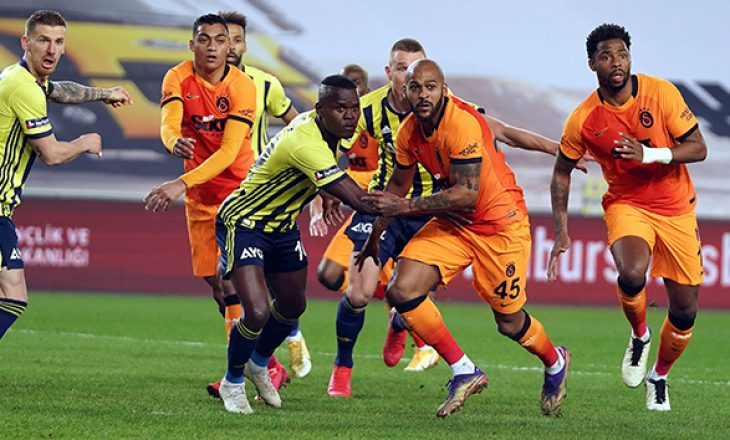 Galatasaray fiton derbin e Stambollit, mposht Fenerbahçen