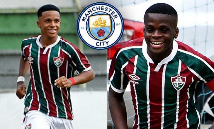 Manchester City afër nënshkrimit me dy talentët e Fluminense-s