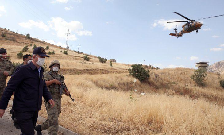Trembëdhjetë civilë turq të vrarë teksa mbaron operacioni anti-PKK në Irakun verior