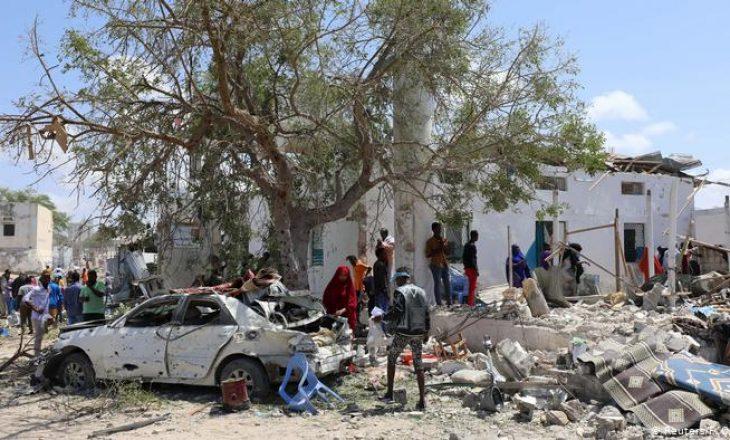 Një sulm vetëvrasës ka ndodhur në Mogadishu të Somalisë
