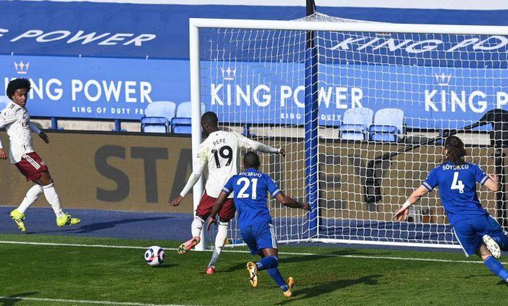 Arsenal mposht Leicester-in si mysafir