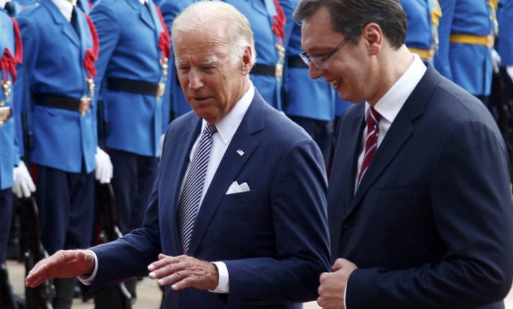 Biden mentions to Vucic the mutual recognition with Kosovo