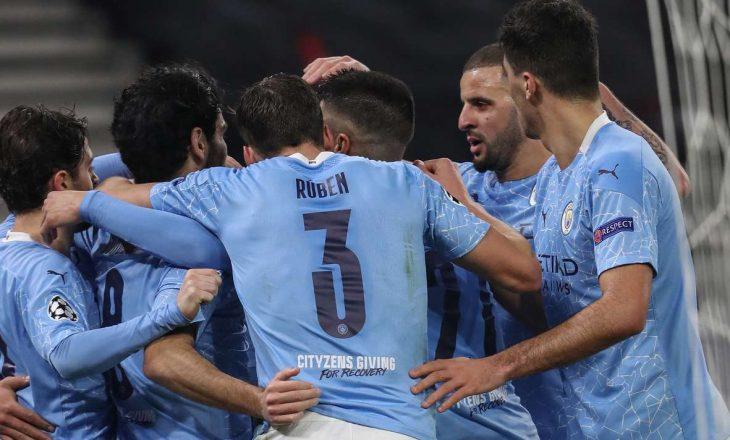 Manchester City mposht Borussia Monchengladbach