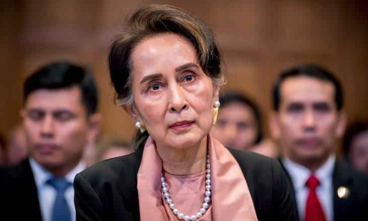 Policia e Mianmarit ngriti akuza kundër Aung San Suu Kyi pas grushtit të shtetit