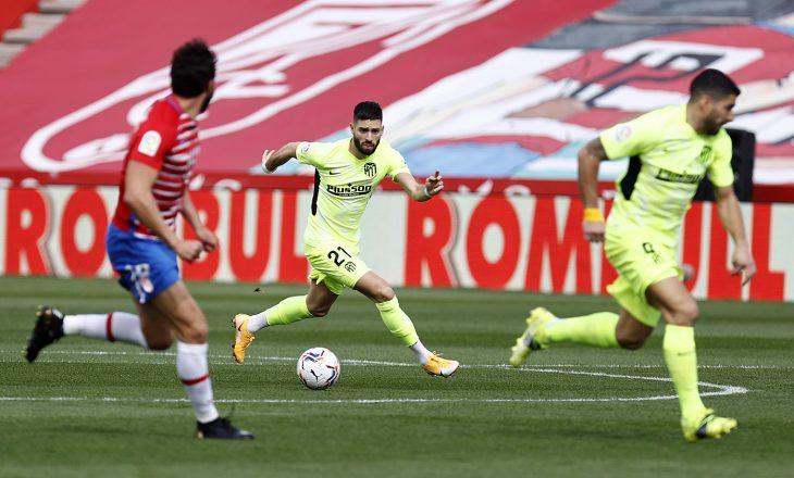 Atletico vijon me fitore, 'viktima' e radhës e kryesuesve të La Liga-s është Granada