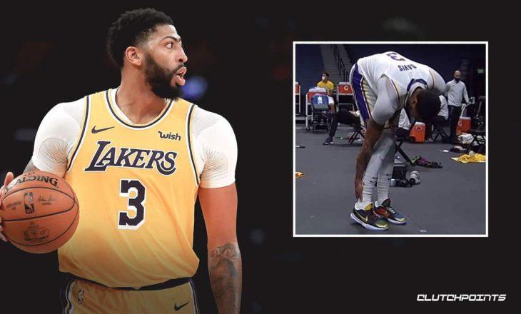 Ylli i Lakers Anthony Davis i nënshtrohet një rezonance magnetike (MRI)