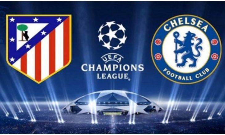 Atletico Madrid vs Chelsea zhvillohet në Bukuresht të Rumanisë