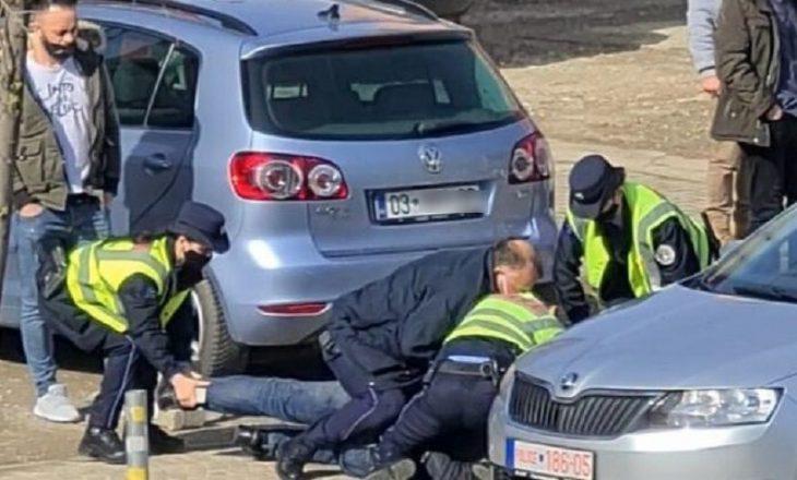 Policia deklarohet për arrestimin e qytetarit në Klinë i cili nuk vendosi maskën