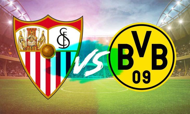 Sevilla vs Borussia Dortmund – formacionet zyrtare