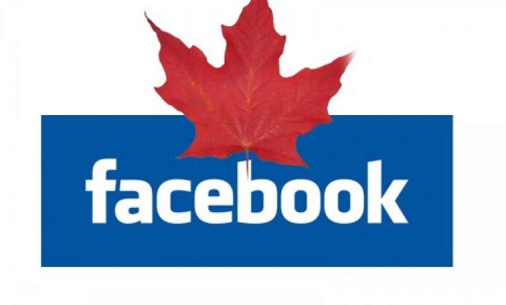 Kanada po ndjek shembullin e Australisë sa i përket Facebook-ut