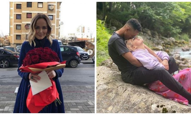 Nuk ishin bashkë për ditëlindje por Adriana Matoshi pranoi një letër dashurie nga i dashuri