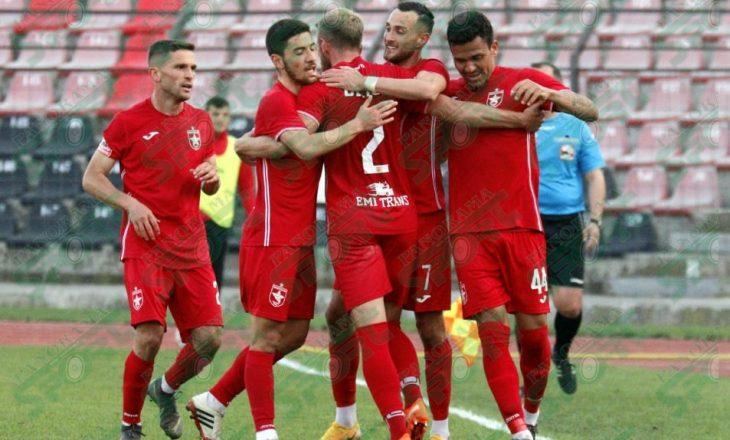 Partizani dhe Laçi ndajnë pikët në 'Elbasan Arena'