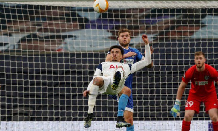 Dele Alli shënon një supergol për Tottenham ndaj Wolfsberger në Europa League