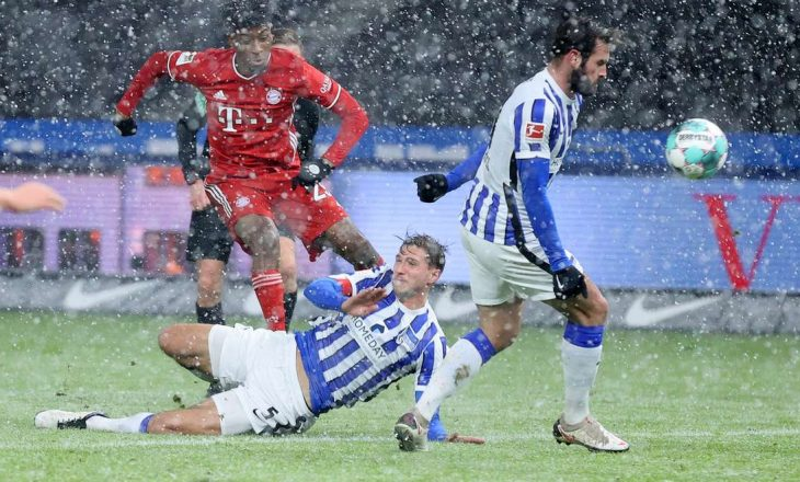 Bayern Munchen mposht Hertha-n minimalisht në kryeqytet