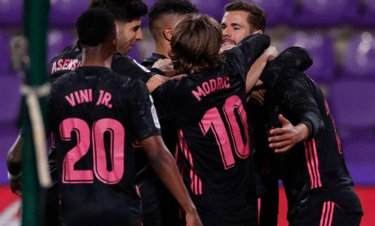 Real mposht minimalisht Valladolid-in, i afrohet në vetëm tre pikë kreut