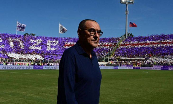 Fiorentina mendon afrimin e Sarrit në pankinë