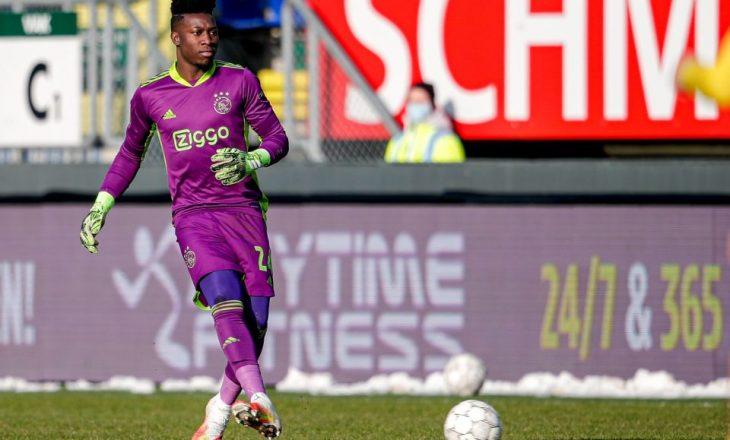 Gardiani i Ajax-it, Andre Onana pezullohet një vit shkaku i dopingut