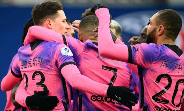 PSG fiton ndaj mysafirëve të Nice, merr kryesimin në Ligue 1