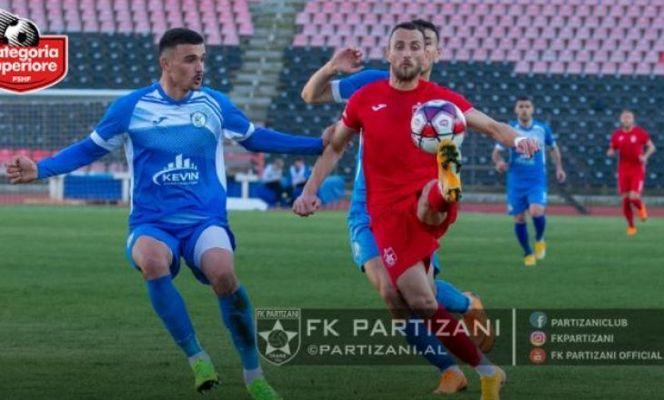 Kategoria Superiore: Partizani ka mposhtur Kukësin