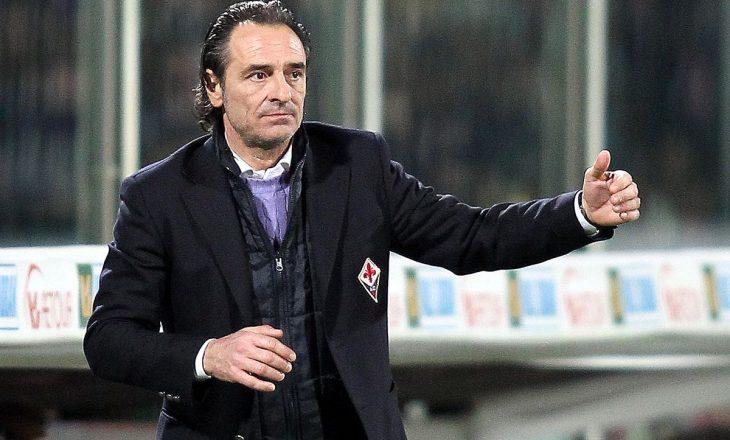 Prandelli te Fiorentina nuk përmbush pritshmëritë, afër shkarkimit