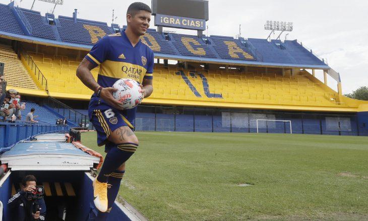 Mbrojtësi argjentinas Marcos Rojo transferohet te Boca Juniors nga Manchester United
