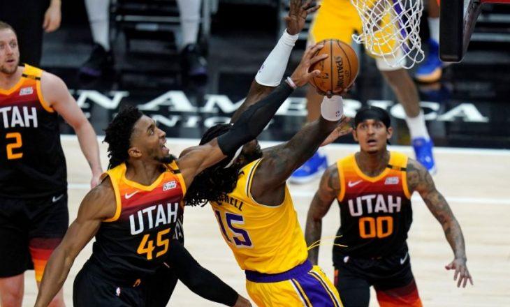Utah Jazz mposht Lakers – rezultatet në NBA