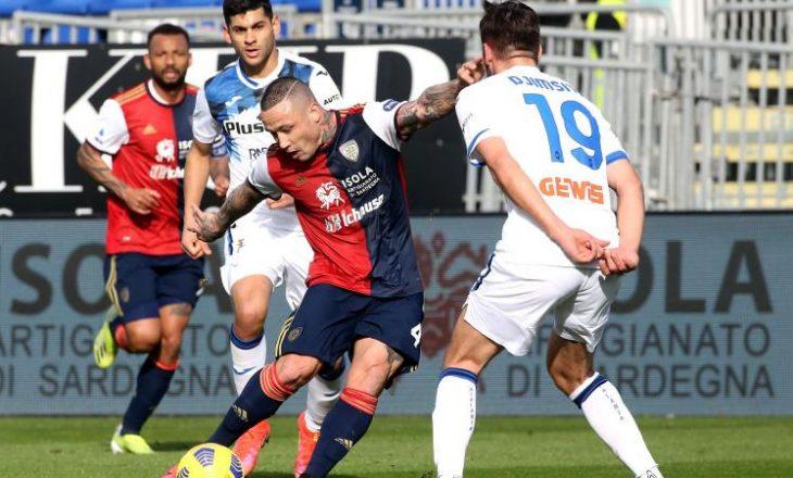 Atalanta mposht Cagliari-n ndërsa Fiorentina mposhtet nga Sampdoria