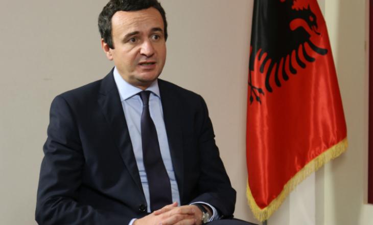 Kurti: Pasi të kthehem nga Brukseli do të paraqes programin qeverisës