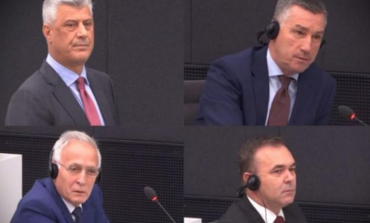 Më 11 shkurt seanca e radhës për Thaçin Veselin, Krasniqin dhe Selimin
