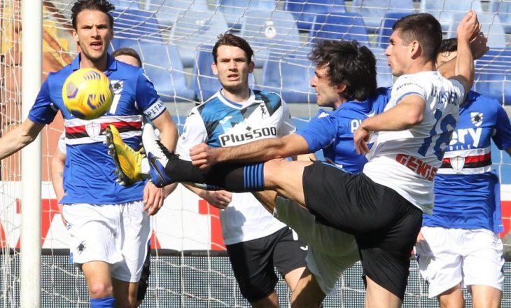 Atalanta mposht Sampdoria-n, kalon përkohësisht në vendin e katërt