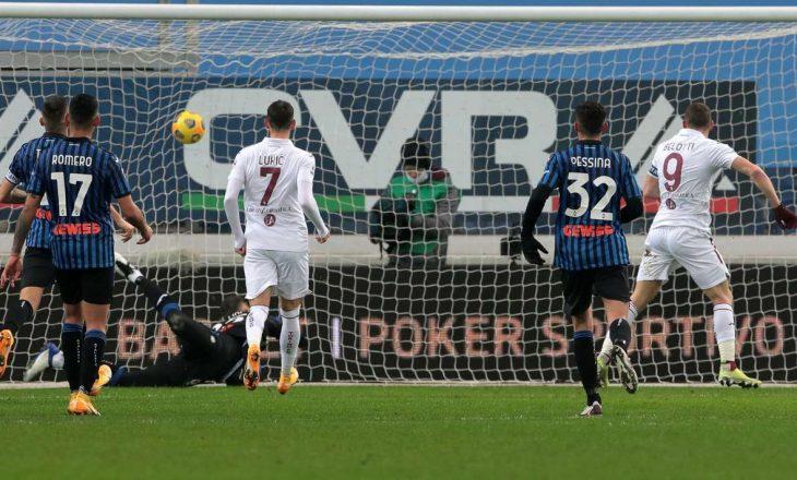 Atalanta barazon në shtëpi me Torinon