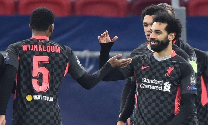 Në Champions League anglezët e Liverpool-it me fytyrë tjetër, mposhtin si mysafir Leipzig-un