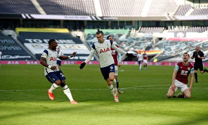 Tottenham fiton lehtësisht ndaj Burnley-t