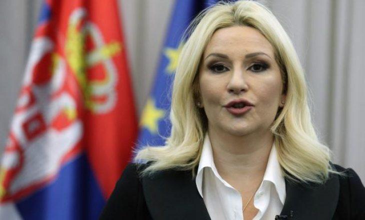 Zv-Kryeministrja serbe: Kurti nuk është dikush që mund t'i japë mësime Serbisë
