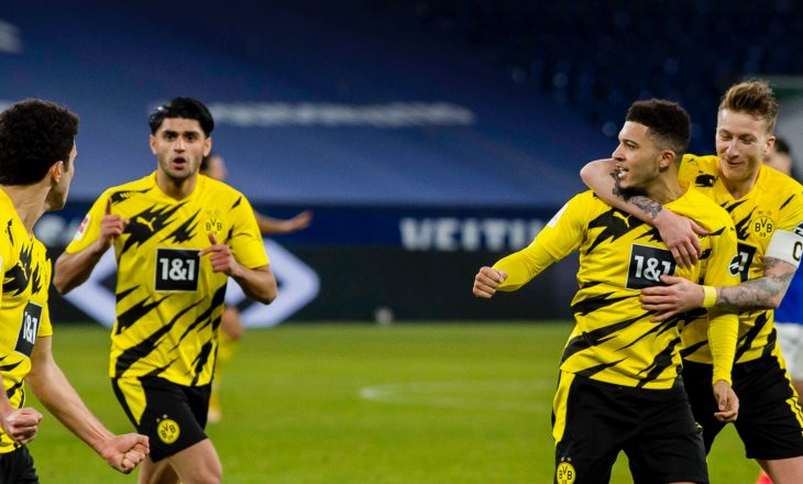 Dortmund mposht bindshëm Schalke-n në 'Veltins Arena'