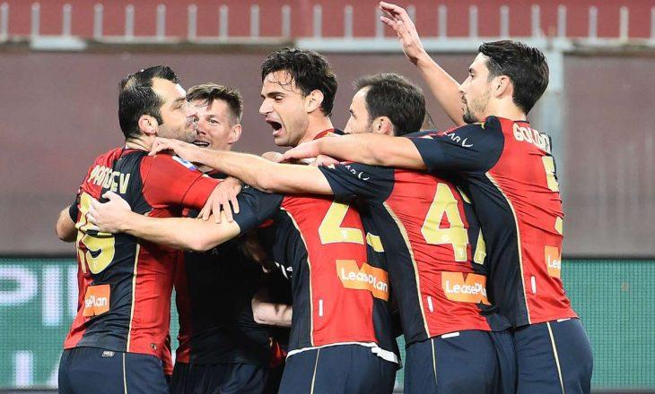 Genoa mposht Napolin, Rrahmani inkuadrohet në pjesën e dytë