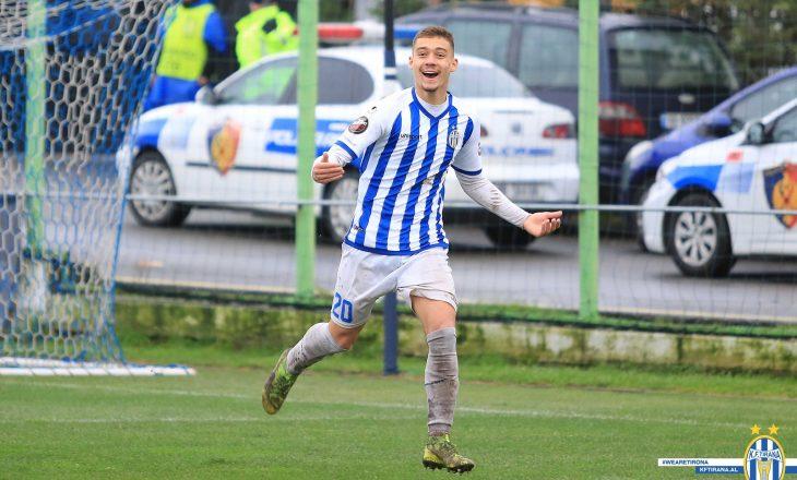 Tirana shet talentin e vet te Legia Varshava në Poloni