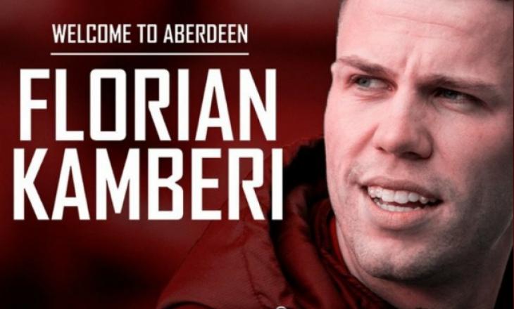 Florian Kamberi huazohet te Aberdeen në Skoci