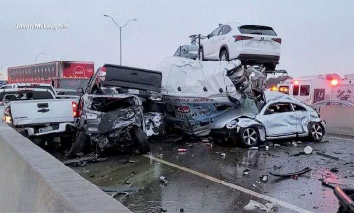 Të paktën pesë të vdekur nga aksidenti zingjiror në Teksas