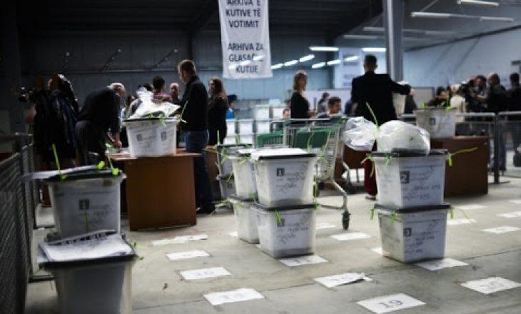 Nga ora 18:00 fillon numërimi i votave me kusht
