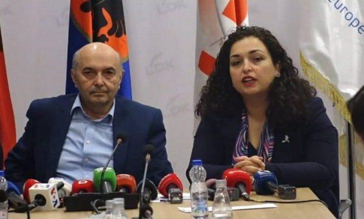 Osmani: Nuk kthehem në LDK