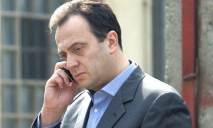 Maqedoni e Veriut, Mijallkov në arrest shtëpiak