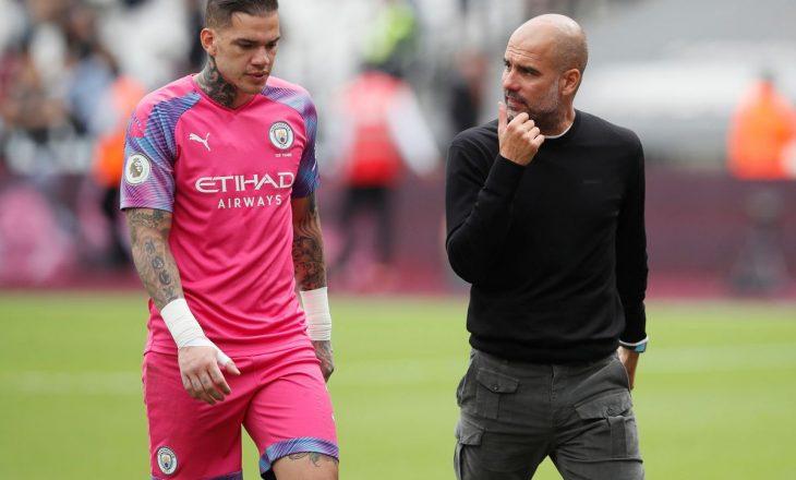 Ederson mund të ekzekutojë penalltitë e Manchester City
