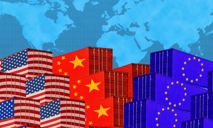 Kina partneri kryesor tregtar i Bashkimit Evropian
